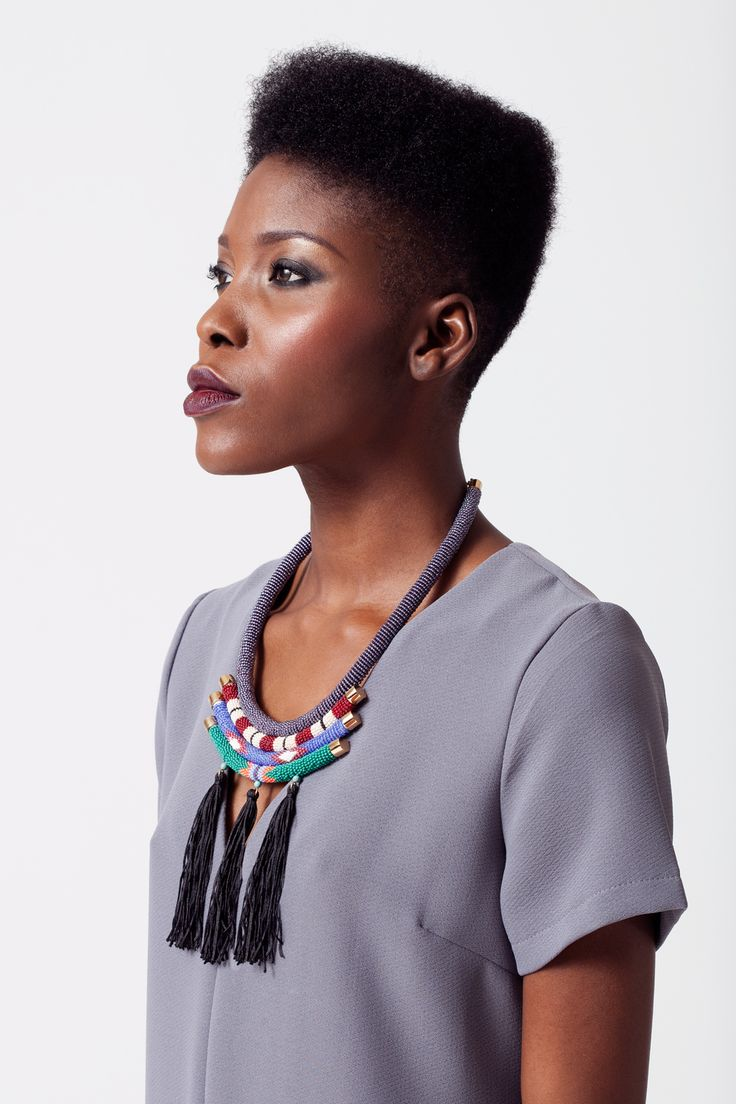 Violetta Necklace  South Collection  AW15 Henriette Botha www.henriettebotha.com