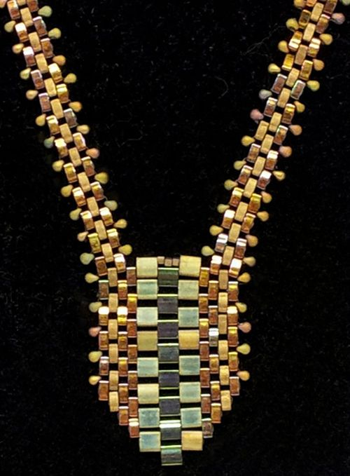171 best images about bead necklaces shaped on