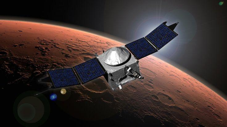 La sonde spatiale MAVEN vient d'arriver autour de Mars