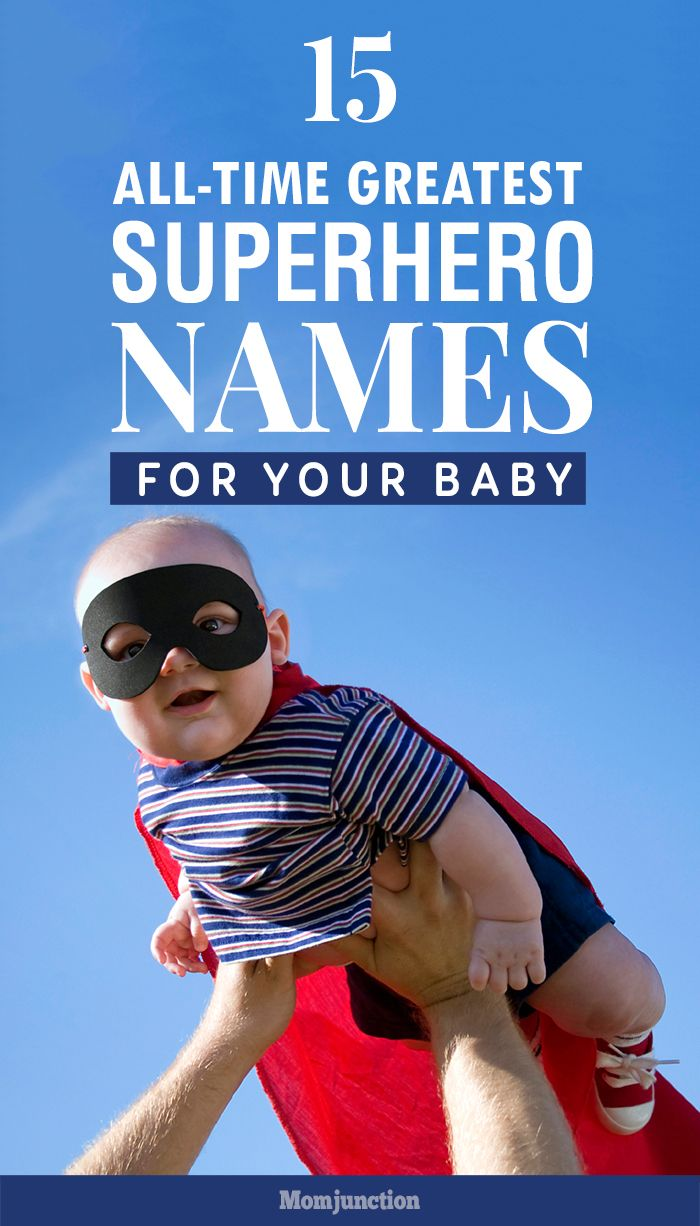 Do you want to name your baby after a superhero? Yes, then here's our list of 15 superhero baby names. Pick a name that suits your style!