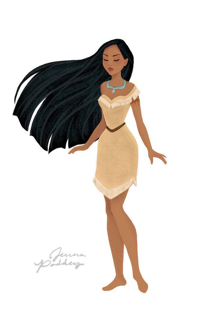 Pocahontas by jennapaddey on DeviantArt