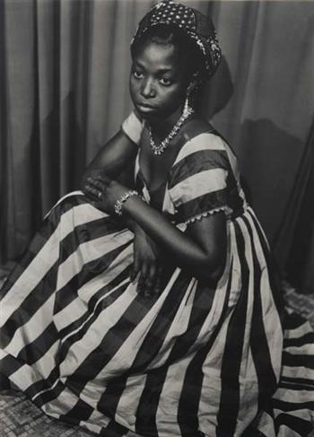 Tim Corrigan book release party on 10/8? this dress modeled by Seydou Keita in1952? what kind of shoes go with this?