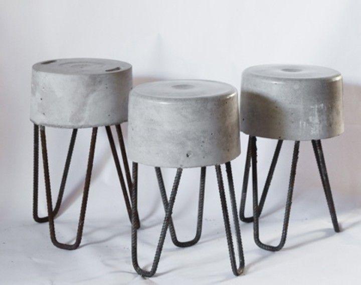 17 mejores ideas sobre banco de hormig n en pinterest for Desayunadores de concreto