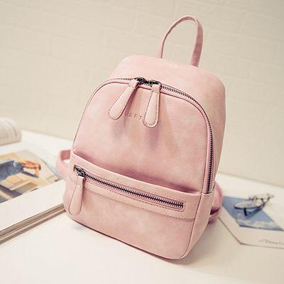 Женщины Рюкзак Новая Мода Повседневная Кожа PU дамы женский рюкзак для девочек подростков школьная сумка твердые мини Небольшой рюкзак купить на AliExpress