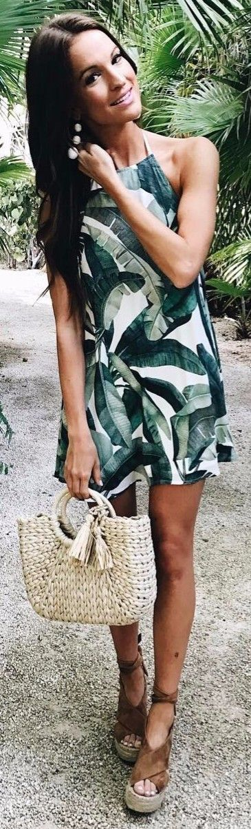 tropical print vibes