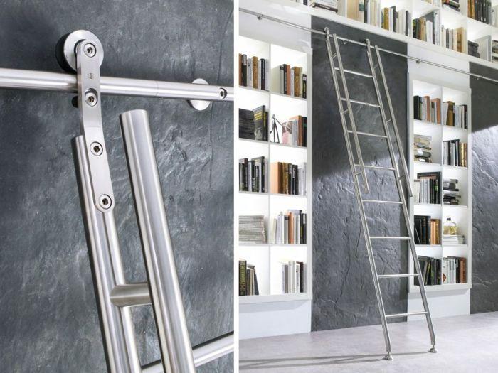 M s de 25 ideas incre bles sobre escalera de biblioteca en for Escalera libreria