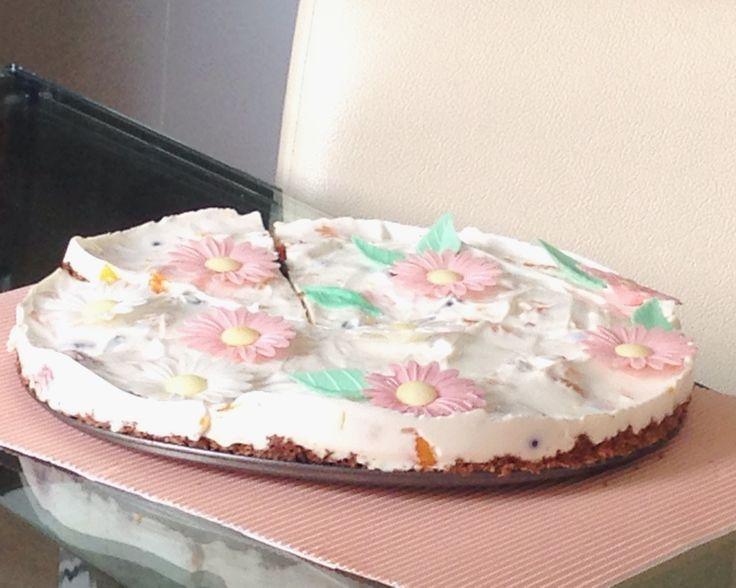 Nepečený tvarohový dort, který si zamiluješ! | julietta.cz