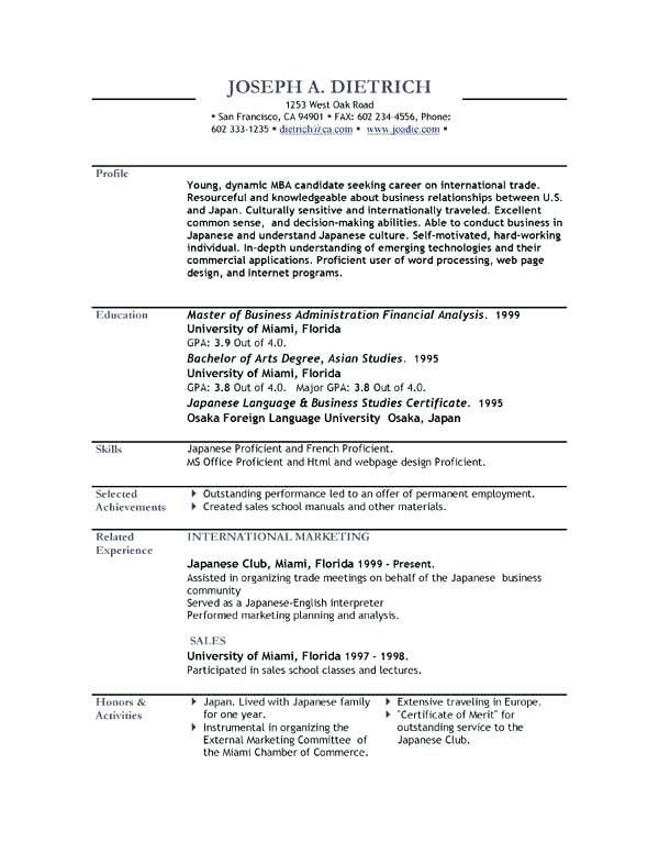 Resume Template Free Free Resume Templates English Resume Template Free In 2020 Resume Template Free Resume Template Cv Resume Template