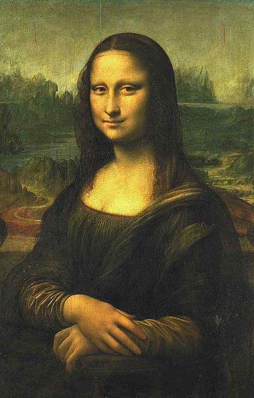 La Gioconda.  También conocida como La Mona Lisa, fue pintada por el conocidísimo Leonardo Da Vinci.