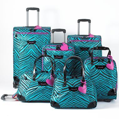 Betseyville® Wild Side Luggage Collection.