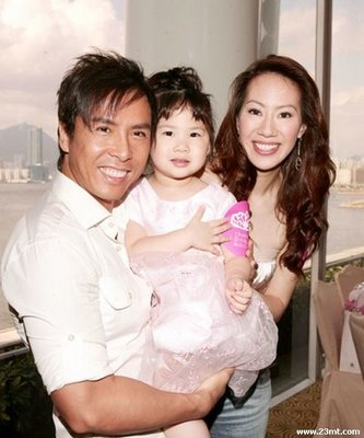 Jet Li And Wife And Children