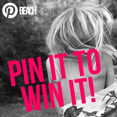 Pin It to Win It. Repin this image and we'll randomly select a pinner and send you a free suit from @Beach Riot! -xx Pinning!
