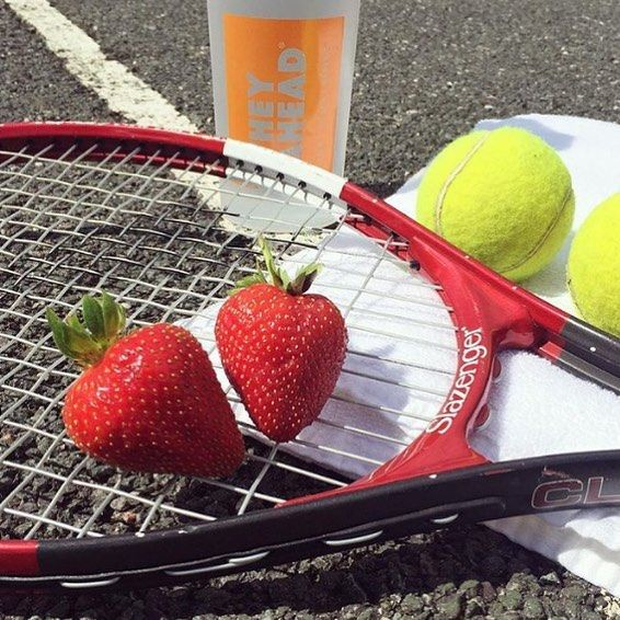 WIMBLEDON started today and we're super excited!! Tennis in the sun served up with some fresh strawberries - ace!  Who plays? Tennis is an amazing all round sport for fitness combining speed endurance and skill.     #fitfam #fitspiration #skill #cleaneating #tennisballs #organic #organicliving #wheyahead #whey #wheyprotein #organicprotein #summer #wimbledon2017 #wimbledon #sports #tennis #strawberry #strawberries #shaker #protein #proteinshake #proteinpowder #lifestyle #fitness #nutrition