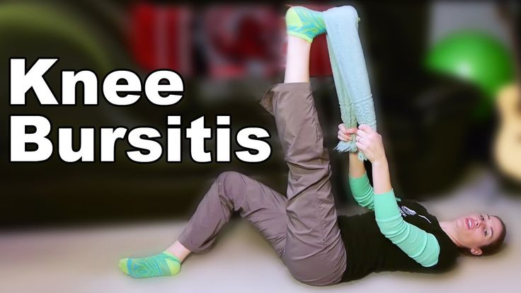 Knee Bursitis Stretches & Exercises - Ask Doctor Jo