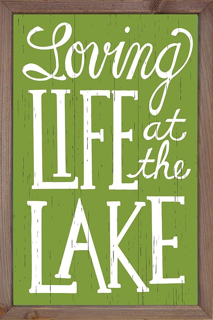 Lake life sign lake quotes lake signs lake house signs