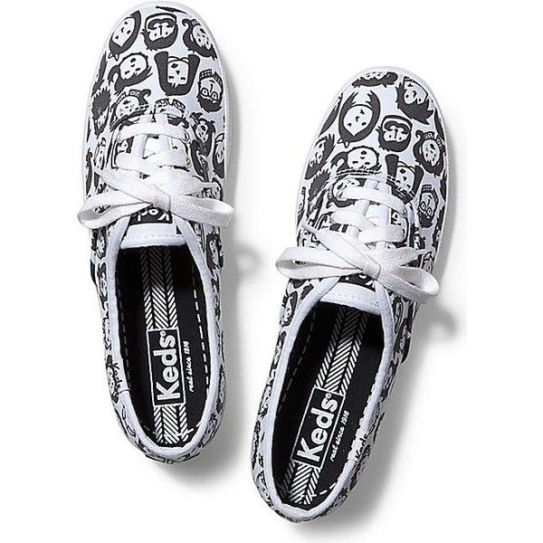 Keds Champion Back to School (59 CAD) ❤ liked on Polyvore featuring shoes, sneakers, zapatillas, white, keds sneakers, white shoes, lace up sneakers, keds footwear et white trainers