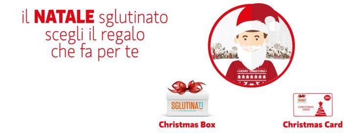 Scegli il regalo che fa per te! Christmas Box da 20€ e Christmas Card da 30€! http://ow.ly/VtoXY  #glutenfree #sglutinati #senzaglutine #xmasglutenfree #xmasnoglutine #regaloglutenfree #sglutinati