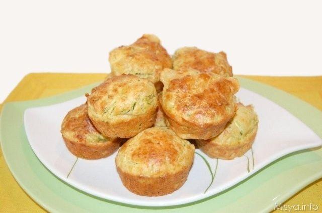 Muffin alle zucchine, scopri la ricetta: http://www.misya.info/2011/05/18/muffin-alle-zucchine.htm