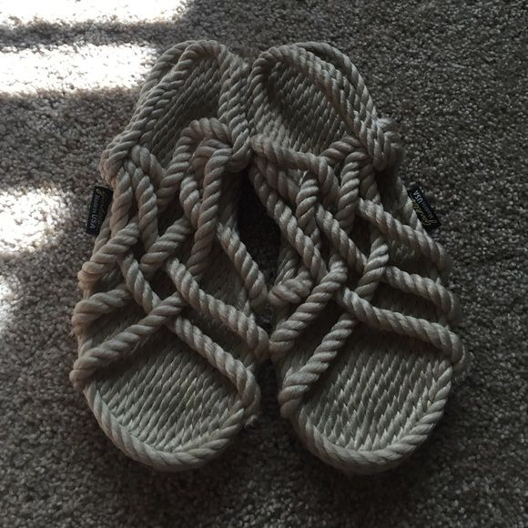 Gurkees rope sandals Gurkess rope sandals. Worn twice. Great condition. Shoes Sandals
