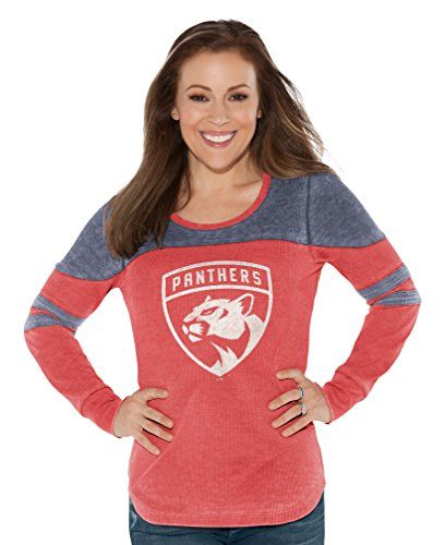 Touch by Alyssa Milano NHL Hat Trick Thermal Tee Florida Panthers