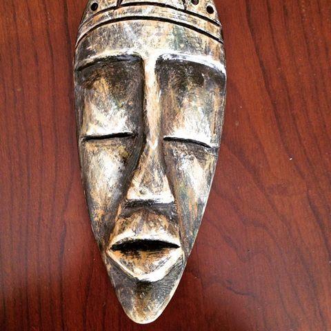 Afrika Mask#duvar tipi#asılabilir mask#sevgi yolu-İzmir/Türkiye #ziya basar Mask-sanat Facebook #