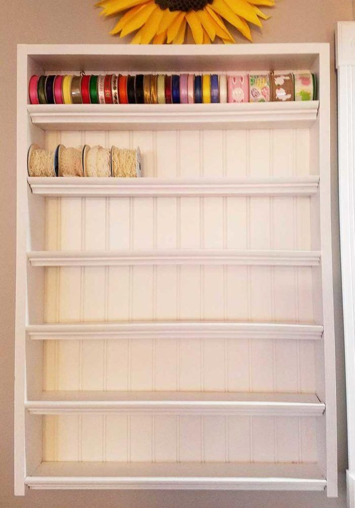 Ribbon Shelf Organizer