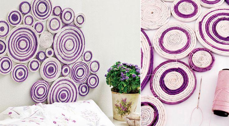 Veja como fazer uma decoração com jornal linda, fácil e extremamente acessível para a sua parede! Acesse e confira o passo a passo!
