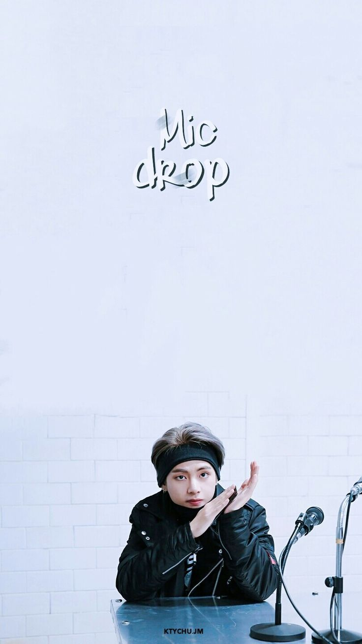 BTS V Wallpaper | BTS 'Mic Drop' Behind the scene | pls make sure to follow me before u save it ☆ pls take out w/ full credits ♡ #BTS #V #TAEHYUNG