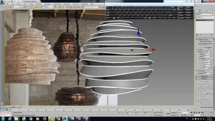 3D MAX MODELING LIGHTING