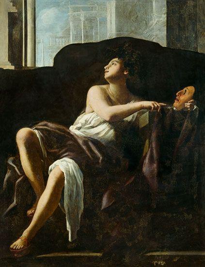 ΘΑΛΕΙΑ..Thalia the Muse - Giovanni Baglione