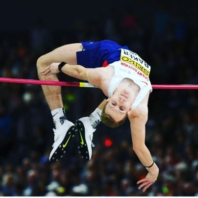 Chris Baker - Athletics. High Jump.