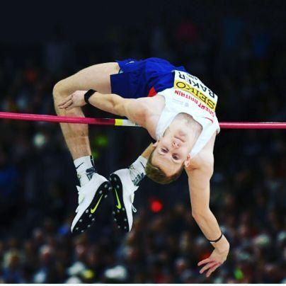 Chris Baker - Athletics. High Jump.