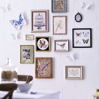 Home Decoration Bird Photo Frames Wall, Birds illustrations