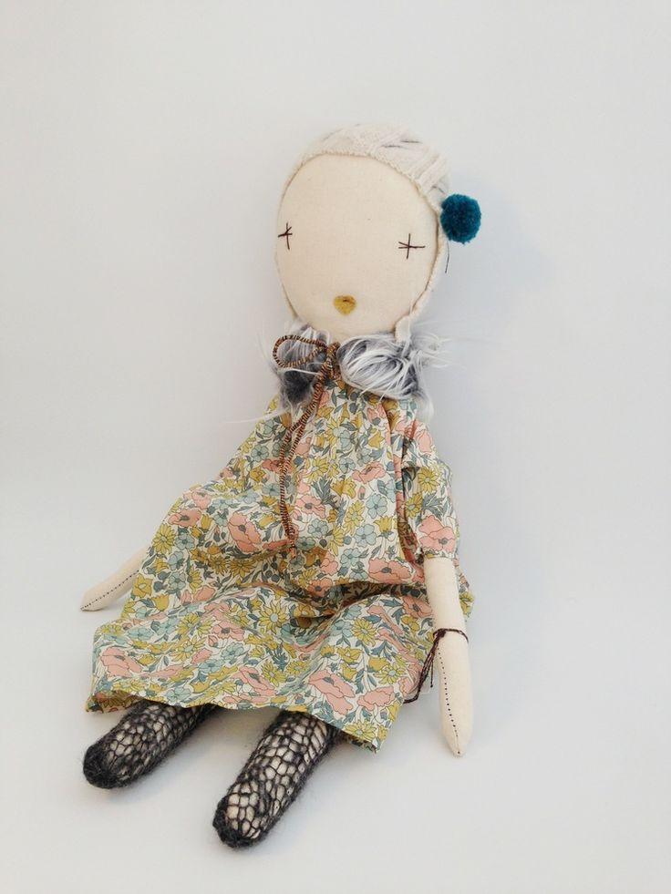 Jess Brown Liberty doll | Tea and Kate