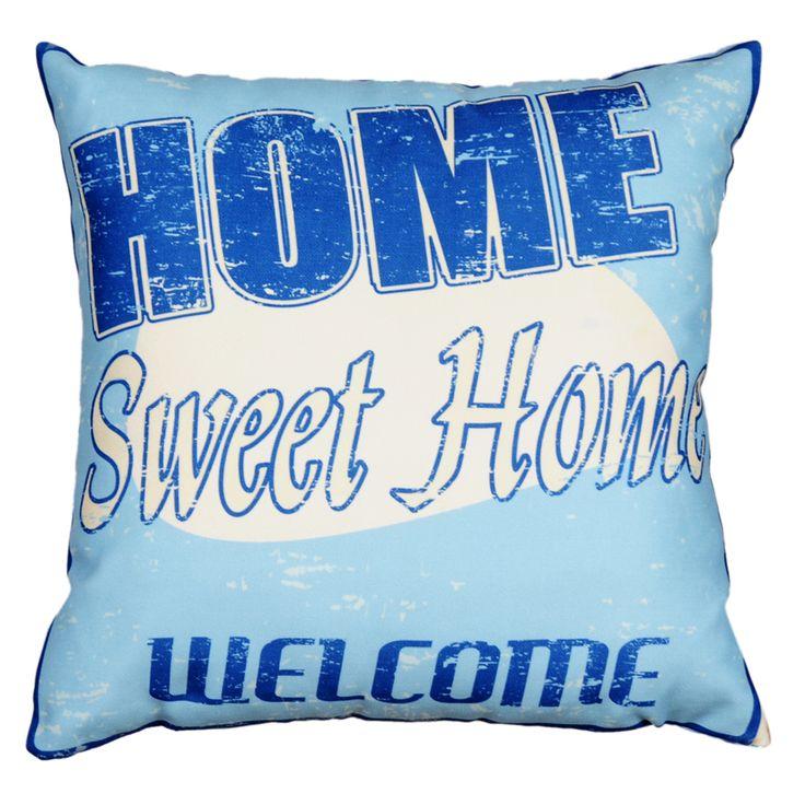Dolce Home  Retro Yastık Sweet Home : 39,90 TL   evmanya.com