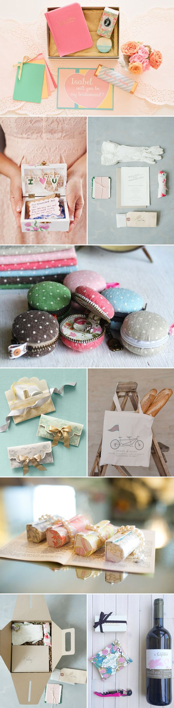 Will you be my bridesmaid? 34 Lovely Bridesmaid Gifts - Kits