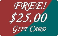 Free $25.00 Gift Card at World-Wide-Art.com