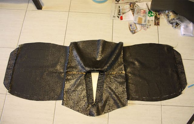 Dressed up Dreams: Hanbok Project Part II : Making the Jeogori + Folkwear Pattern Review