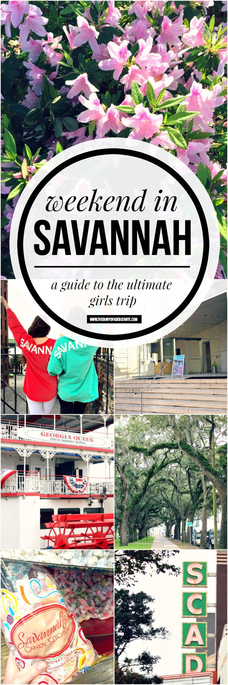 A travel guide to the ultimate girls weekend in Savannah, Georgia