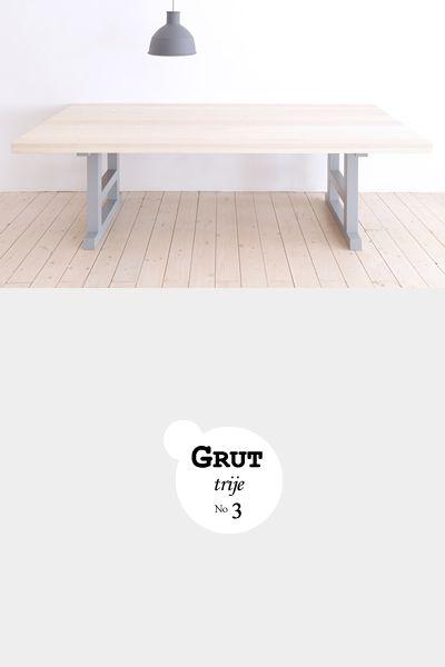 Grut 3 | Slowwood handmade furniture www.slowwood.nl