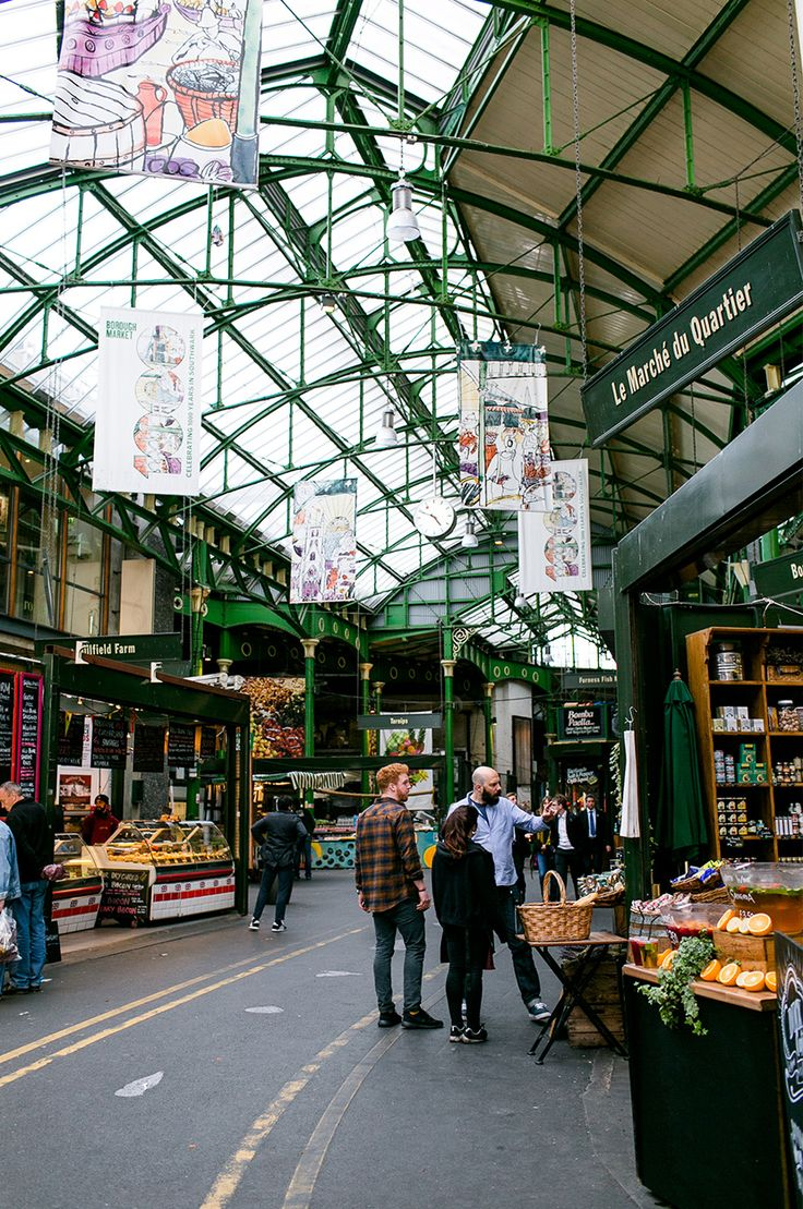 Borough Market  | 10 Days in London | The Fresh Exchange