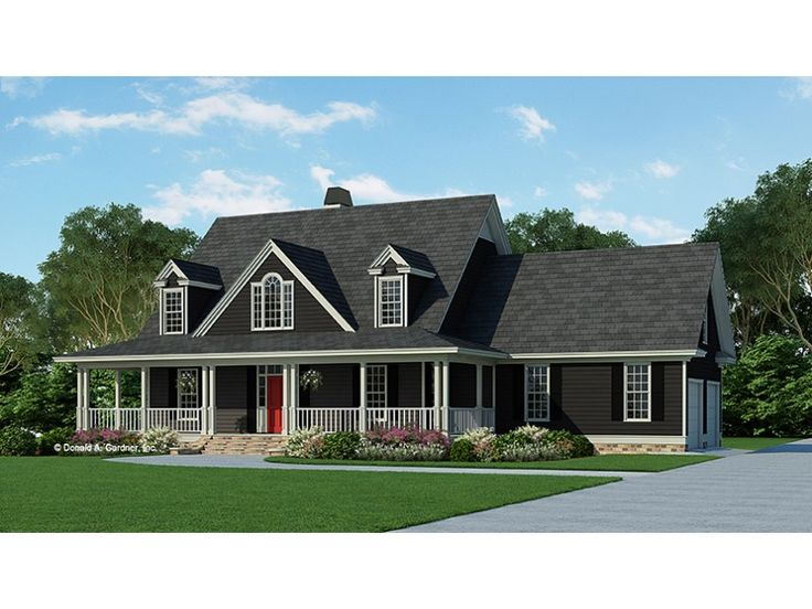 Home Plan HOMEPW07213 is a gorgeous 2164 sq ft, 2 story, 4