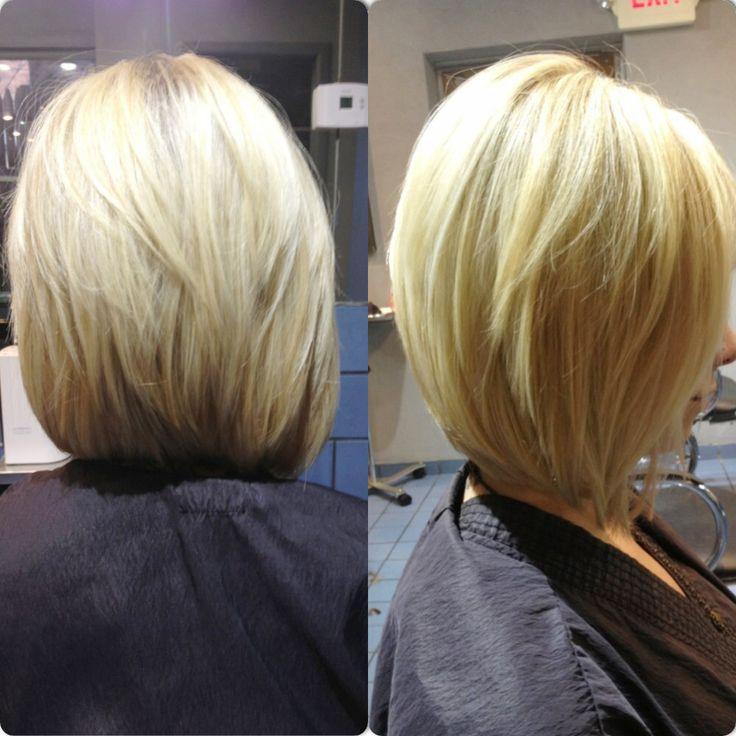 Sew In Asymmetrical Bob | Short Hairstyle 2013