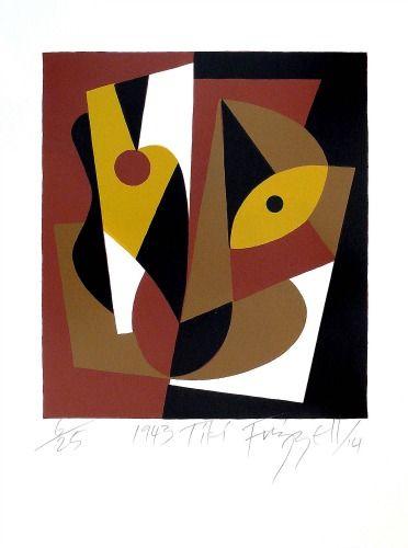 1943 Tiki by Dick Frizzell