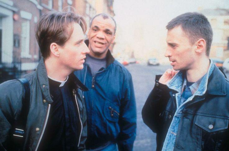 PRIEST, Linus Roache, Paul Barber, Robert Carlyle, 1994. ©Miramax