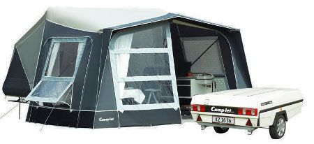 Camp let 2GO 2017 Used Trailer Tent