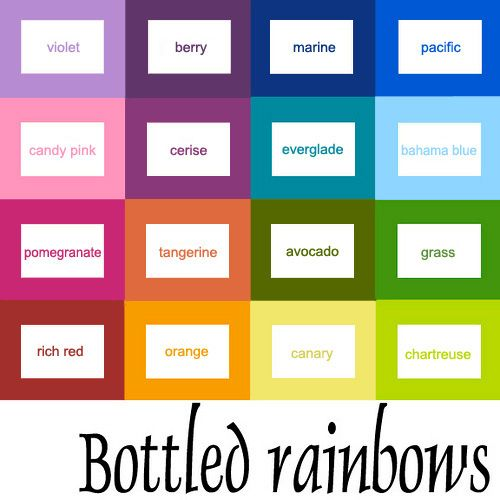 Updated Bottled Rainbows Color Grid Ticker Tape Quilt Along