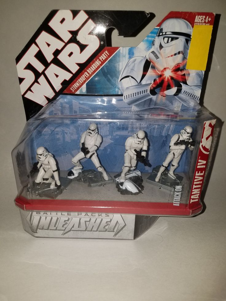 HASBRO STAR WARS, Unleashed Battle Packs Storm trooper Boarding Party