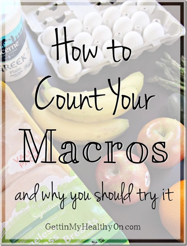 Ever wonder why you're not seeing results from diet or exercise? Learn how counting your macros can help you eat the right foods for how you workout.