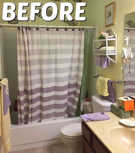 Diy Bathroom Decorating Ideas On A Budget: How To Renovate An 80's Bathroom On A Budget DIY